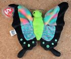 Ty Beanie Baby Babies FLOAT the Colorful Butterfly Mint Condition Tag Protector