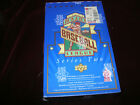1993 Upper Deck Series 2 Baseball Factory Sealed box 15 cards per pack