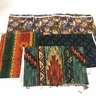 Lot Of 4 Works of Clay Alexander Henry Native American Indian Navajo Quilting
