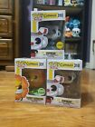 Cuphead Funko Pop Vinyl Bundle Cagney Carnation Chase exclusive