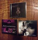 Apocalyptica CD Set Wagner Reloaded, 7th Symphony, Worlds Collide