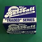 1988 Topps Traded Baseball Factory Set (132) Roberto Alomar RC MINT IN AND OUT