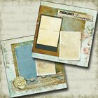 Cherished Treasures 2 Premade Scrapbook Pages EZ Layout 4582