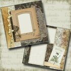 The Seamstress 2 Premade Scrapbook Pages EZ Layout 4592
