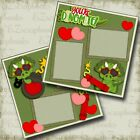 Youre Dinomite Valentine 2 Premade Scrapbook Pages EZ Layout 4612