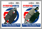 Front & Rear Brake Pads for Kawasaki VN1500 Drifter 99-04 Classic Fi 00-04