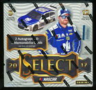 (2) 2017 PANINI SELECT RACING SEALED HOBBY BOX LOT auto prizm parallels nascar