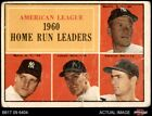 1961 Topps #44 Mickey Mantle Roger Maris Yankees Twins Tigers AUTHENTIC