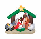 Gemmy Airblown Large Nativity Scene Christmas Inflatable Multicolored 1 pk