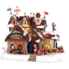 Lemax Kringle's Cottage Village Building Multicolored Porcelain 1 pk