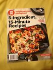 WEIGHT WATCHERS 5 INGREDIENT 15 MINUTE RECIPES FREE SHIPPING