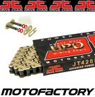 JT HPO HEAVY DUTY GOLD O-RING CHAIN FITS HYOSUNG GT125 NAKED 2003-2015