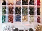 1064pc Czech Glass Crystal Rondelle Picasso Bead Lot 9x6  6mm Jewelry Supply