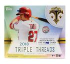 2018 Topps Triple Threads Factory Sealed Hobby Baseball Box