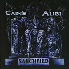 CAIN'S ALIBI Sanctified CD 9 tracks FACTORY SEALED NEW 2000 Nightmare USA
