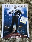 EDDIE MURPHY SIGNED Coming To America 11X14 PHOTO Poster PSA DNA COA AUTOGRAPHED