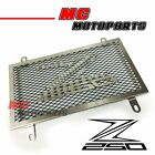 1x Stainless Steel Radiator Grill Guard Cover Fit Kawasaki Z250 2013-2015 14 15