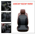 Car Seat Cover Cushion Soft Massage Padded SUV Interior Front Cover Chair Mat