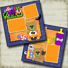 My First Halloween Baby Premade Scrapbook Pages EZ Layout 4650