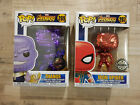 Funko Pop Avengers Infinity War Chrome Exclusives - Thanos & Iron Spider!!!