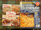 Weight Watchers Slow Cook It  5 Ingredient 15 Minute Recipes Lot