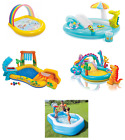 Outdoor Play Center Paddling Pool Inflatable Kids Swimming Pool Water Slide