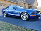 2007 Ford Mustang SHELBY GT500 2007 Vista Blue Ford Mustang SHELBY GT500 11k Miles