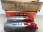 LIONEL POSTWAR 2343 SANTA FE F3 AA DIESEL ENGINES WITH ORIGINAL BOXES AND LINERS