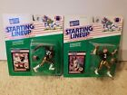1989 Kenner slu starting lineup football Saints Dalton Hilliard and Bobby Hebert