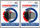 Front & Rear Brake Pads for Adly SS 125 B/D Supersonic 04-05 Thunderbike 125