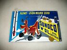 REPRODUCTION VINTAGE SUNOCO PLUTO  ADVERTISING METAL OIL SIGN!