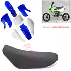 Plastics Fairing Guards + Seat Kit for Kawasaki KLX110 DRZ110 KX 65 Suzuki RM65