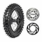 12 inch Rear Wheel Assembly 80 100 12 Tire Rim 300 12 for Pit Dirt Bike 50cc 70
