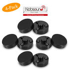 4PCS Amplifier Isolation Stand Feet Speaker Spikes Pads CD Player Turntable Mats