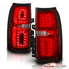 Red Clear  2015 2018 Chevrolet Suburban Tahoe SUV LED Brake Tail Lights 2016