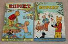 VINTAGE PAIR OF RUPERT (BEAR) DAILY EXPRESS ANNUALS - 1974 & 1975