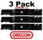 3 Pack Oregon 96 364 Gator Mulcher Blade for John Deere M144652 54 Z Trak