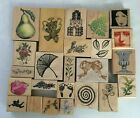 Rubber Stamps Wood Block Mounted Stamp SALE Scrapbook Card Making 1 Each USED