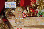 TY BEANIE GINGY THE GINGERBREAD MAN FROM