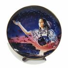 Native American Indian Woman Collector Plate Maiden of the Evening Stars by D