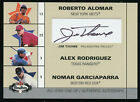 2003 Fleer Box Score All Star Line-Up Jim Thome AUTO Rodriguez Garciaparra 260