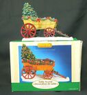 Lemax 2005 Farm Wagon Table Accent Decoration Christmas Tree Village Collection