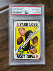 1971 TOPPS SIGNED AUTO GAME CARD BART STARR PACKERS ALABAMA HOF PSA DNA # 50