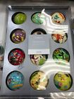 Crate  Barrel 12 Days of Christmas Ornaments Paper Mache Complete Set NEW