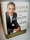SIGNED Barack Obama AUDACITY OF HOPE 1st Edition First Print President History