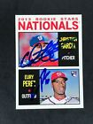2013 Topps Heritage Baseball Real One Autographs Visual Guide 63