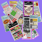 LOT OF 37 MMBI DIMENSIONAL STICKERS SOFT SPOKEN GLITTER PHOTO SLEEVES NEW