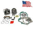 50mm Bore Performance Big Bore Cylinder Kit 100cc 50cc GY6 Motorcycle Scooter
