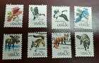 US STAMPS 1757a h used 1978 CAPEX birds  wildlife complete set of 8