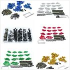 Complete Fairing Bolt Screws Kit Fit For Kawasaki Ninja 300 250 ZX6R 7R 9R 10R